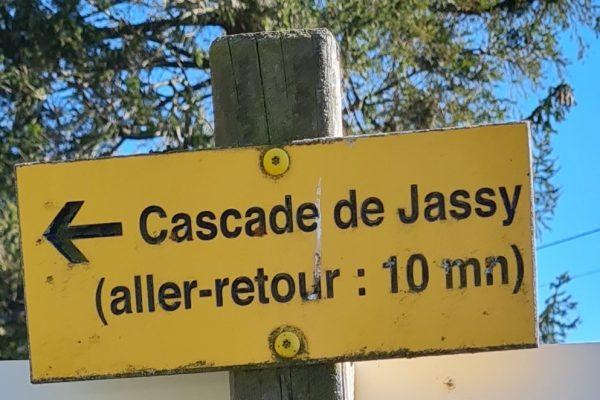 Randonnée cascade de Jassy